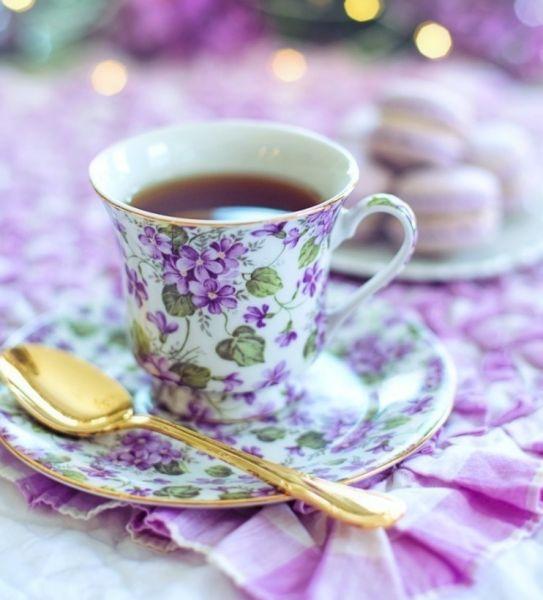 что делала чай пила